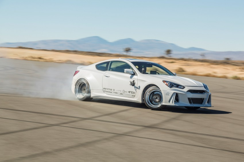 Hyundai exhibits six custom-modded models at SEMA Image #403306
