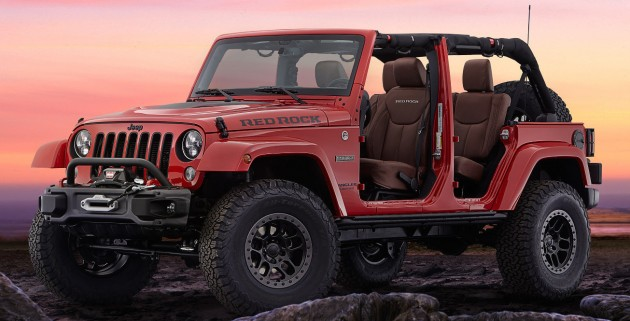 Jeep Wrangler Red Rock Concept SEMA-01