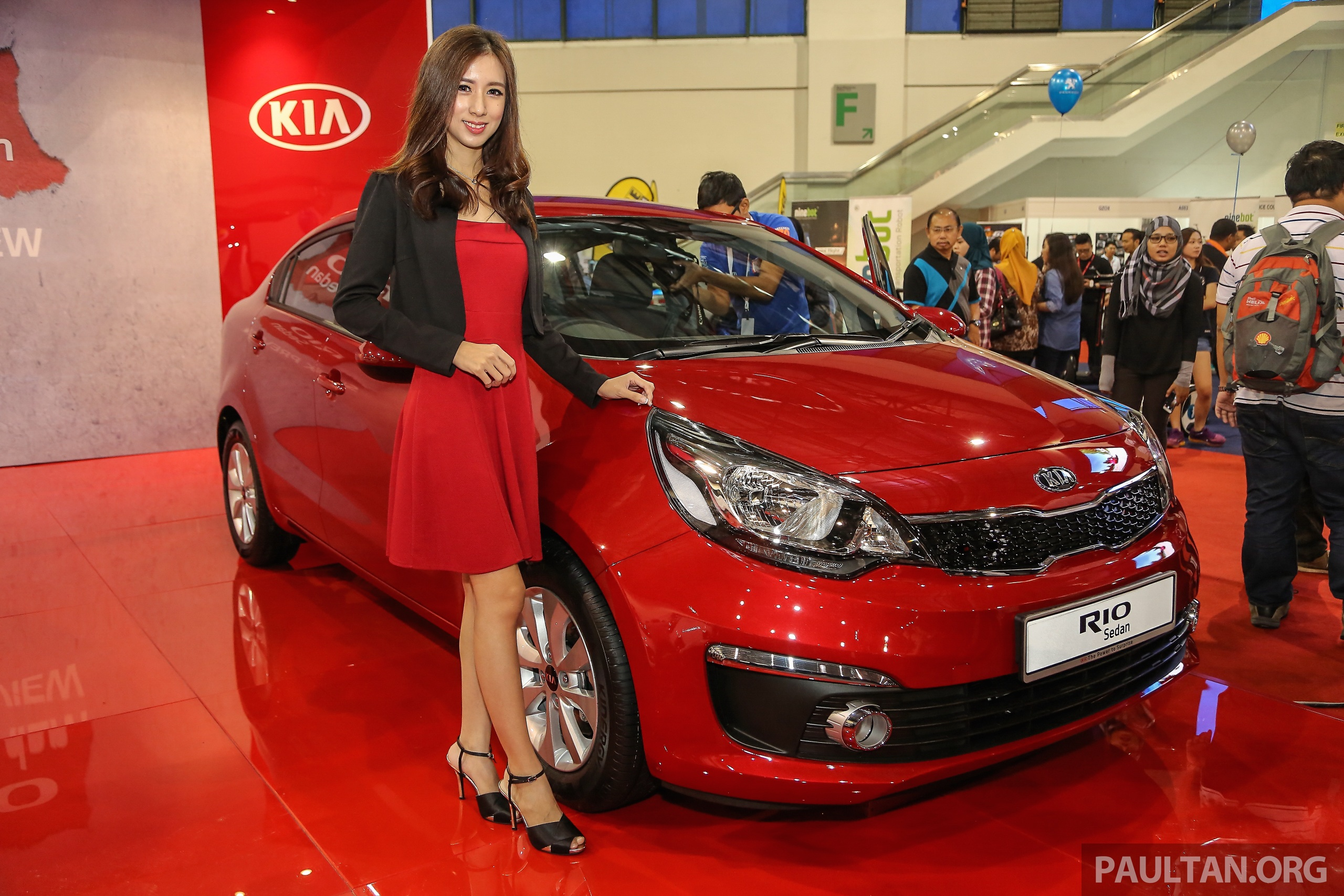 kia rio sedan previewed in malaysia est rm73 000 image. Black Bedroom Furniture Sets. Home Design Ideas