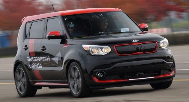 Kia Soul EV Autonomous Car-01