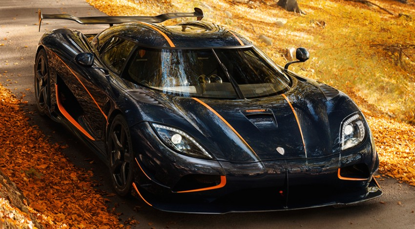 Koenigsegg Agera RS begins production for the US