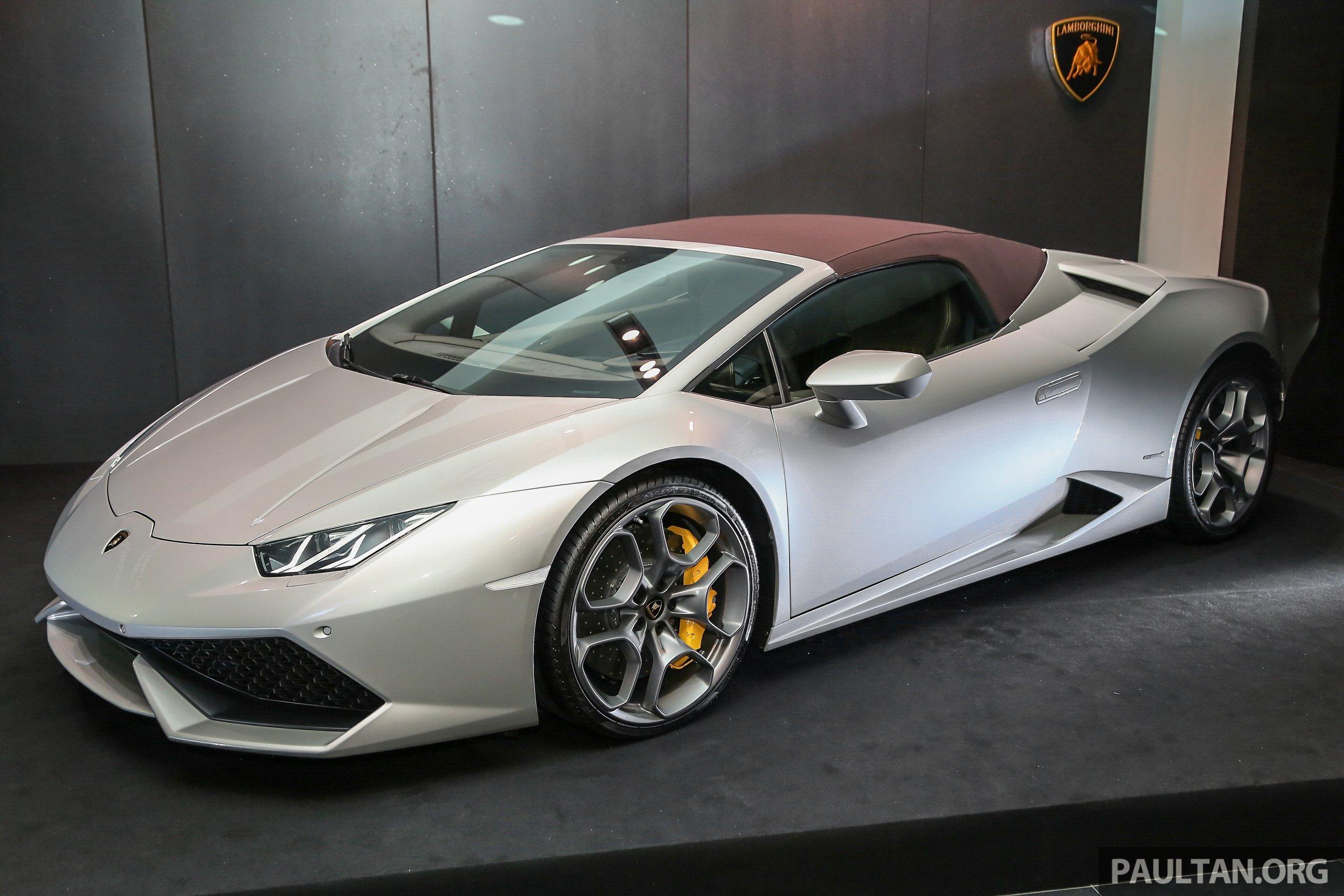 Lamborghini Huracan Spyder >> Lamborghini Huracan Spyder now in M'sia, fr RM1.35m Image 403677