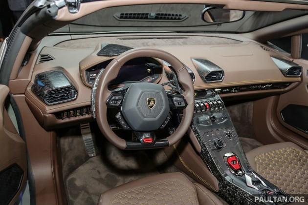 Lamborghini Huracan LP610-4 Spyder 22