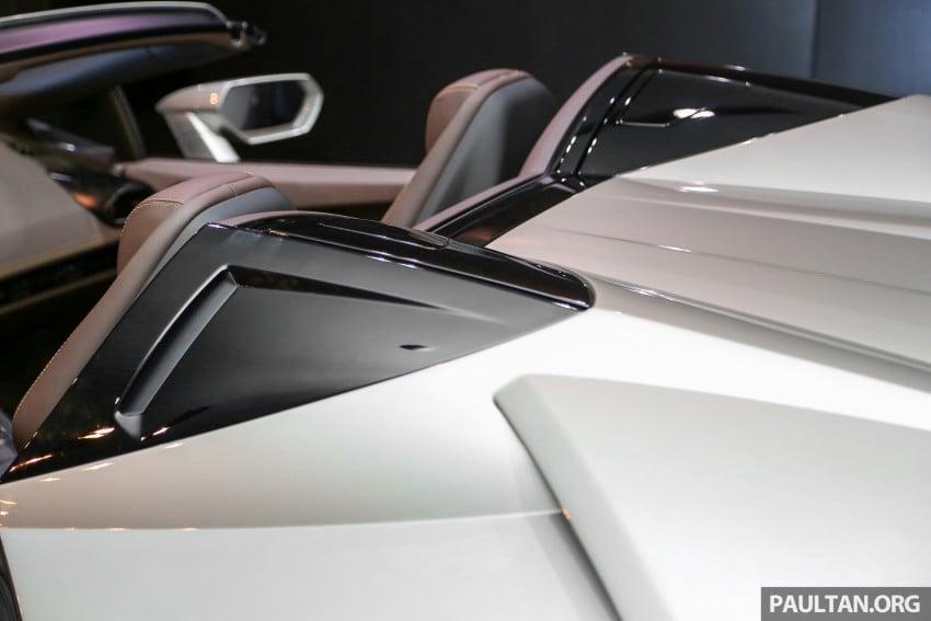 Lamborghini Huracan Spyder now in M'sia, fr RM1.35m Image #403726