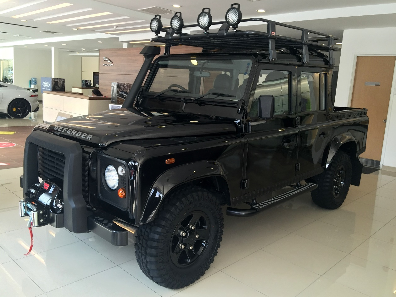 Land Rover Defender Limited Edition Launched In M Sia