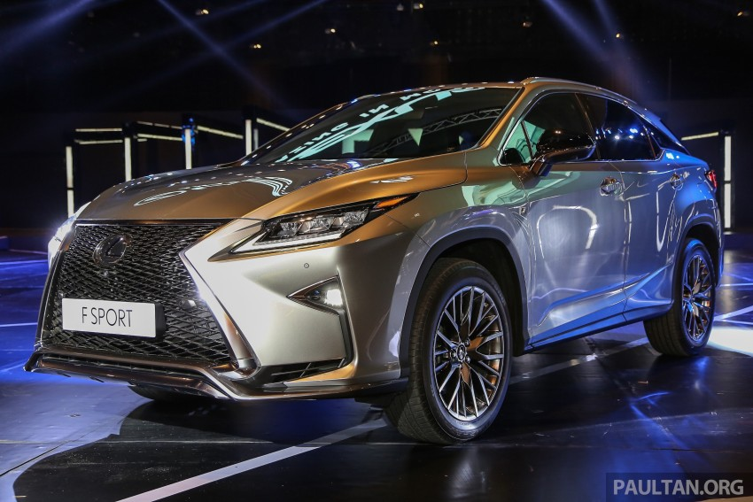 New fourth-gen Lexus RX launched in Malaysia – 200t, 350, 450h and F Sport variants, from RM389k Image #406780