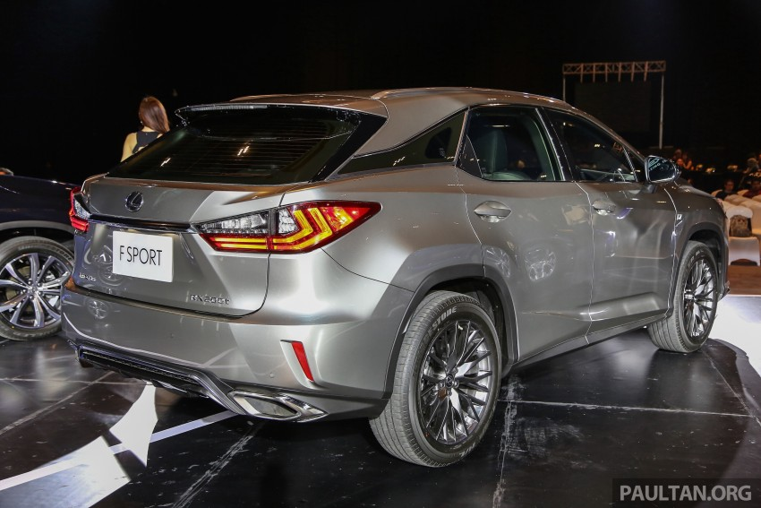 New fourth-gen Lexus RX launched in Malaysia – 200t, 350, 450h and F Sport variants, from RM389k Image #406791