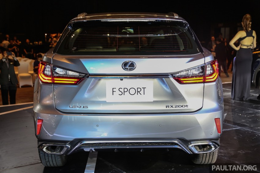 New fourth-gen Lexus RX launched in Malaysia – 200t, 350, 450h and F Sport variants, from RM389k Image #406797
