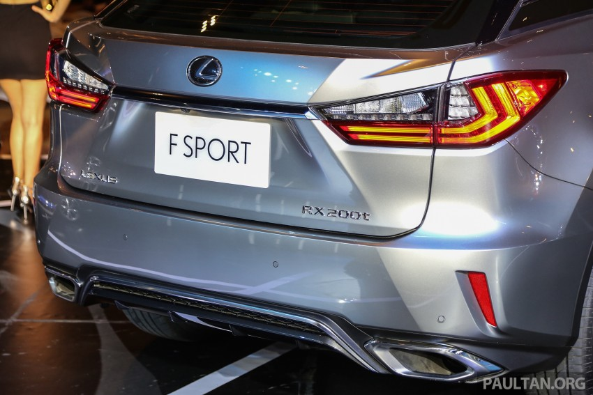 New fourth-gen Lexus RX launched in Malaysia – 200t, 350, 450h and F Sport variants, from RM389k Image #406798