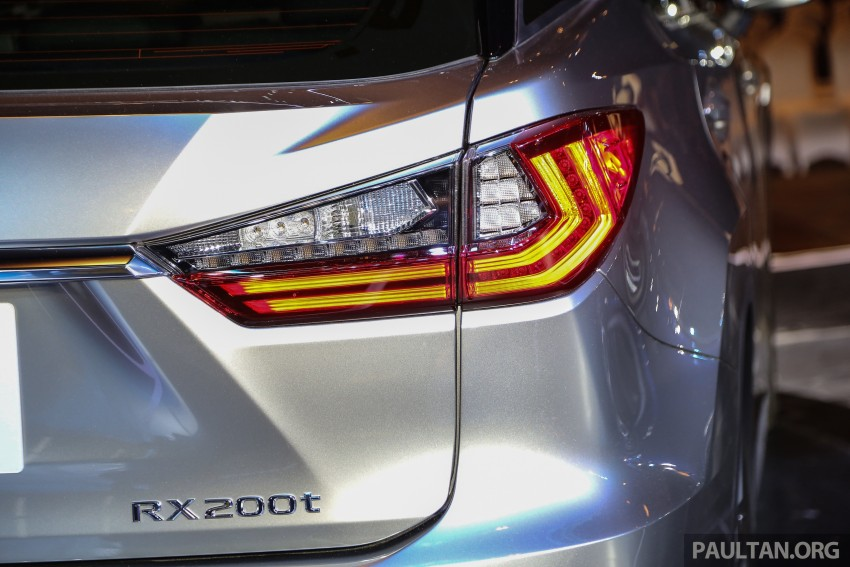 New fourth-gen Lexus RX launched in Malaysia – 200t, 350, 450h and F Sport variants, from RM389k Image #406799