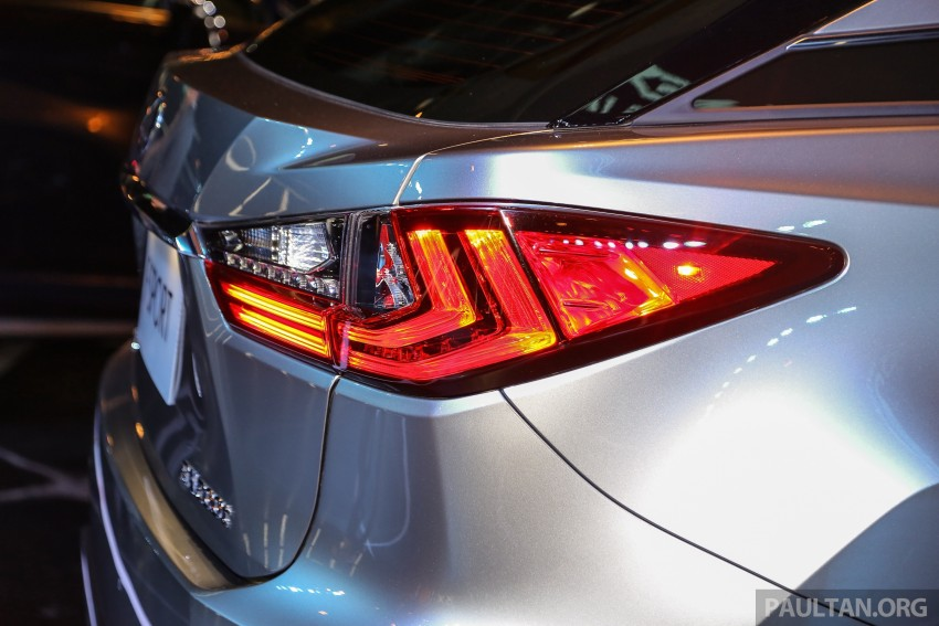 New fourth-gen Lexus RX launched in Malaysia – 200t, 350, 450h and F Sport variants, from RM389k Image #406803