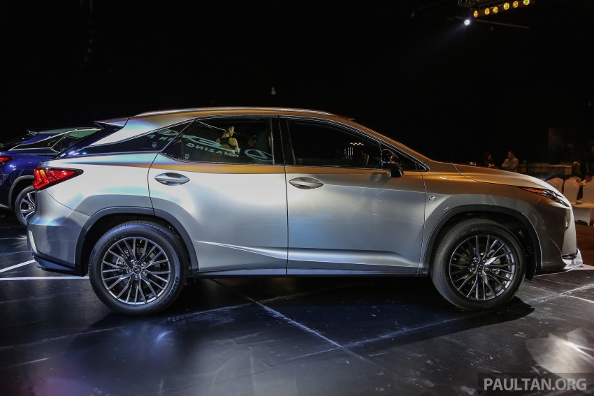 New fourth-gen Lexus RX launched in Malaysia – 200t, 350, 450h and F Sport variants, from RM389k Image #406804