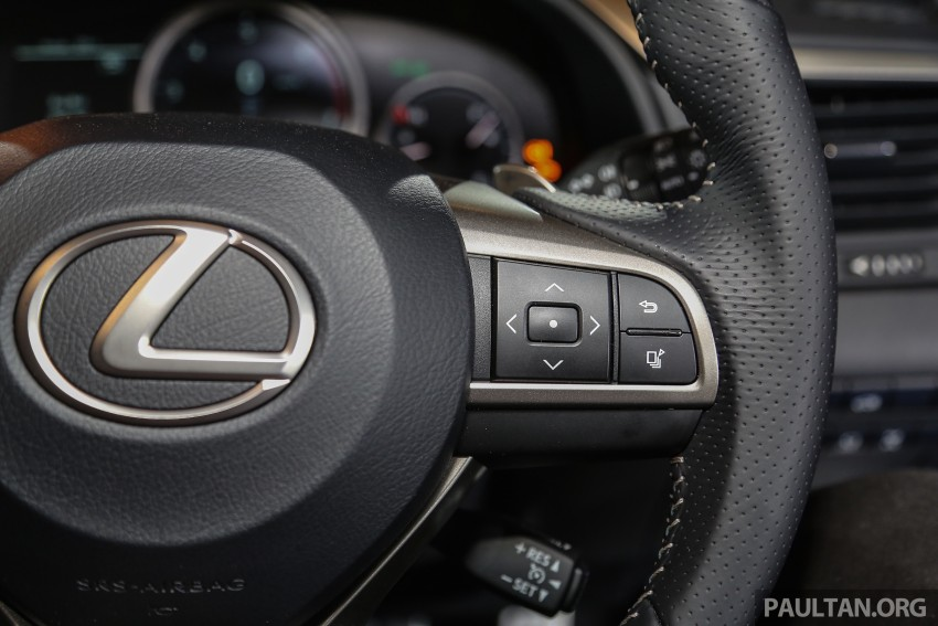 New fourth-gen Lexus RX launched in Malaysia – 200t, 350, 450h and F Sport variants, from RM389k Image #406866