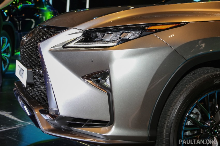 New fourth-gen Lexus RX launched in Malaysia – 200t, 350, 450h and F Sport variants, from RM389k Image #406790