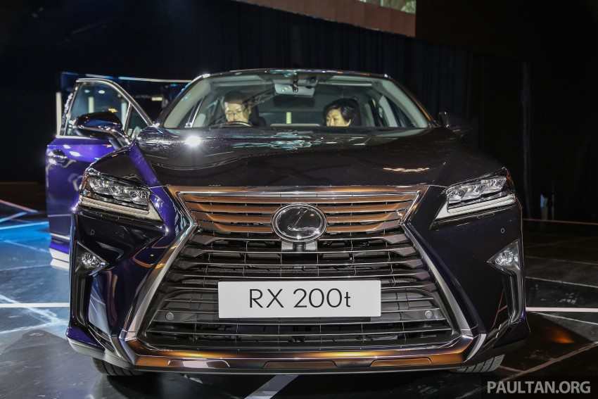 New fourth-gen Lexus RX launched in Malaysia – 200t, 350, 450h and F Sport variants, from RM389k Image #406565