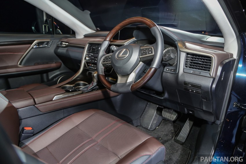 New fourth-gen Lexus RX launched in Malaysia – 200t, 350, 450h and F Sport variants, from RM389k Image #406577
