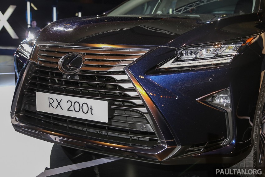 New fourth-gen Lexus RX launched in Malaysia – 200t, 350, 450h and F Sport variants, from RM389k Image #406567