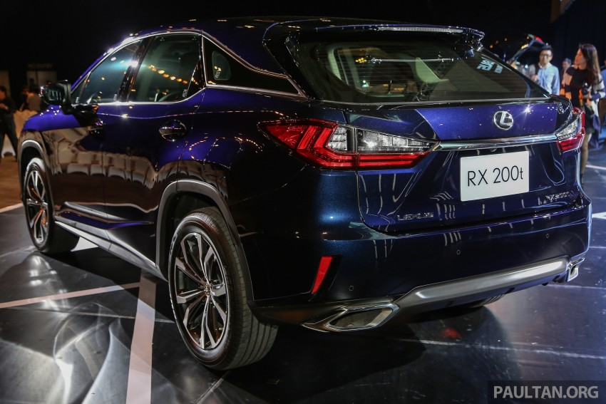 New fourth-gen Lexus RX launched in Malaysia – 200t, 350, 450h and F Sport variants, from RM389k Image #406572