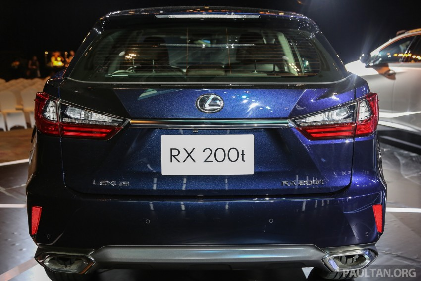 New fourth-gen Lexus RX launched in Malaysia – 200t, 350, 450h and F Sport variants, from RM389k Image #406573