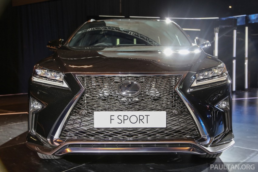 New fourth-gen Lexus RX launched in Malaysia – 200t, 350, 450h and F Sport variants, from RM389k Image #406588