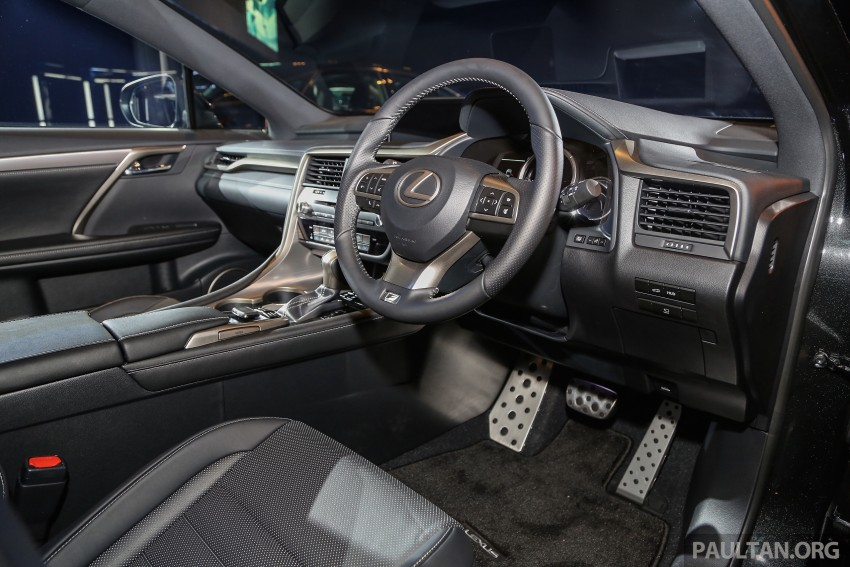 New fourth-gen Lexus RX launched in Malaysia – 200t, 350, 450h and F Sport variants, from RM389k Image #406612