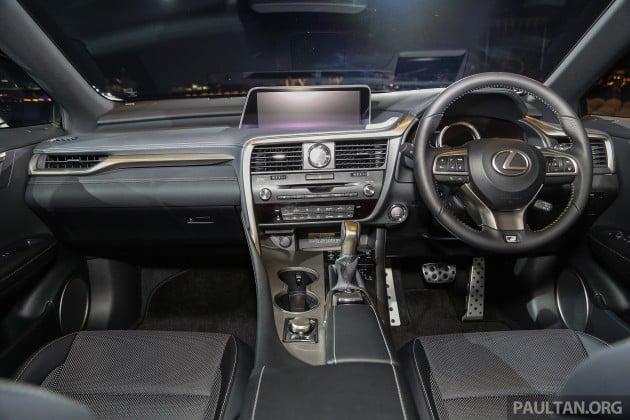 Lexus RX 350 F Sport Launch 14