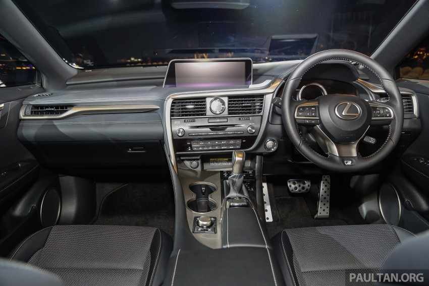 New fourth-gen Lexus RX launched in Malaysia – 200t, 350, 450h and F Sport variants, from RM389k Image #406619