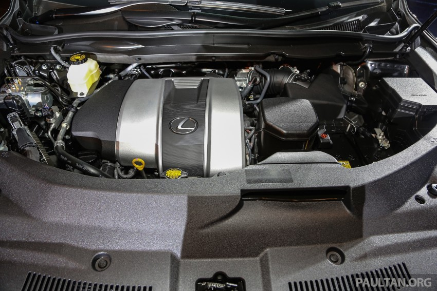 New fourth-gen Lexus RX launched in Malaysia – 200t, 350, 450h and F Sport variants, from RM389k Image #406620