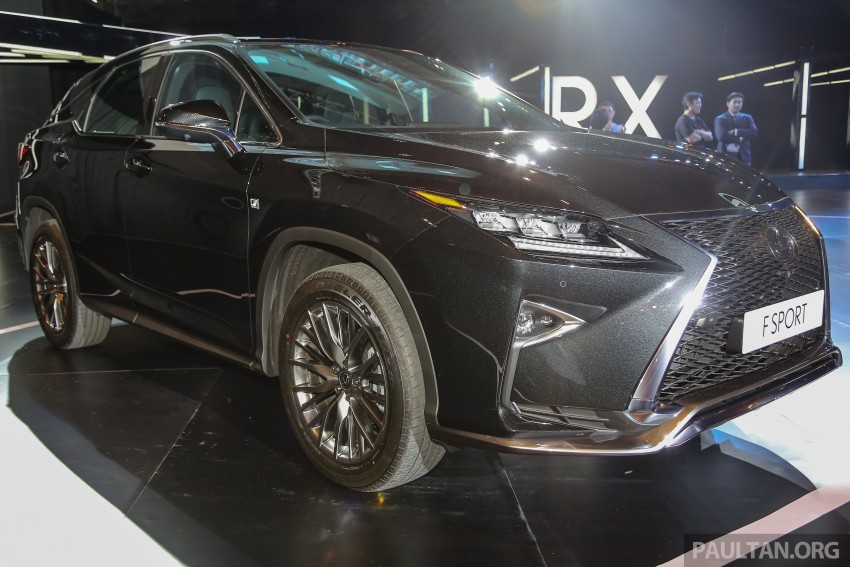 New fourth-gen Lexus RX launched in Malaysia – 200t, 350, 450h and F Sport variants, from RM389k Image #406590