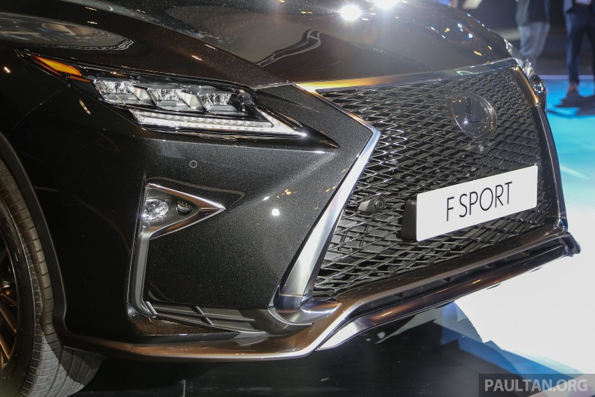 New fourth-gen Lexus RX launched in Malaysia – 200t, 350, 450h and F Sport variants, from RM389k Image #406592