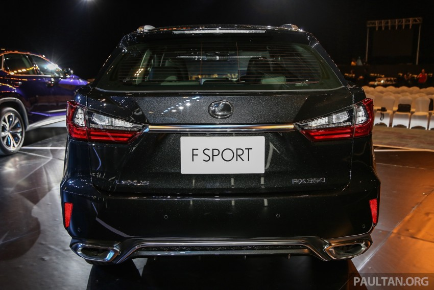 New fourth-gen Lexus RX launched in Malaysia – 200t, 350, 450h and F Sport variants, from RM389k Image #406596