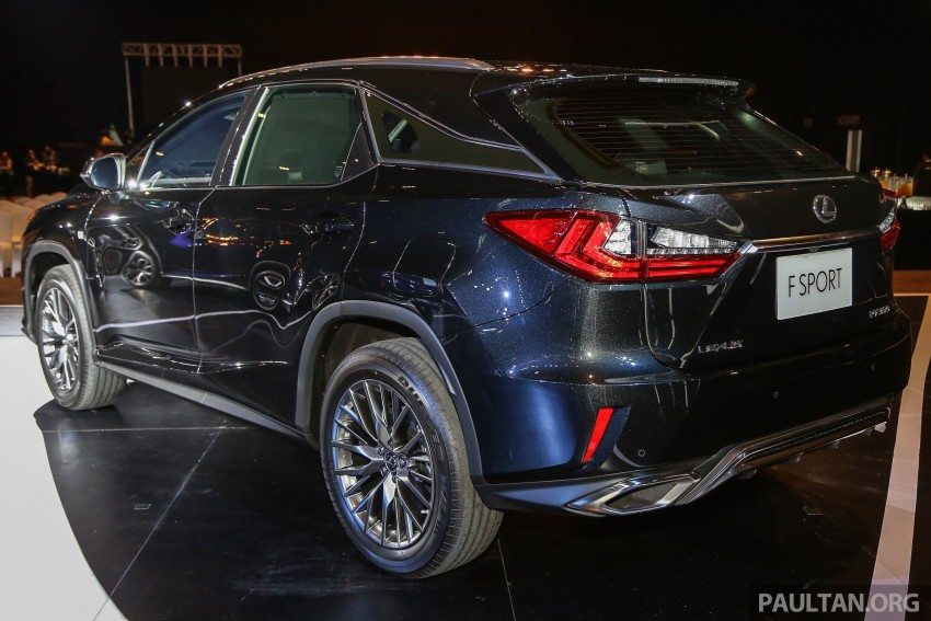 New fourth-gen Lexus RX launched in Malaysia – 200t, 350, 450h and F Sport variants, from RM389k Image #406597