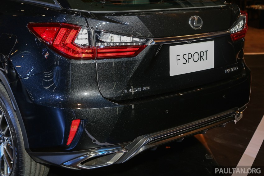 New fourth-gen Lexus RX launched in Malaysia – 200t, 350, 450h and F Sport variants, from RM389k Image #406598