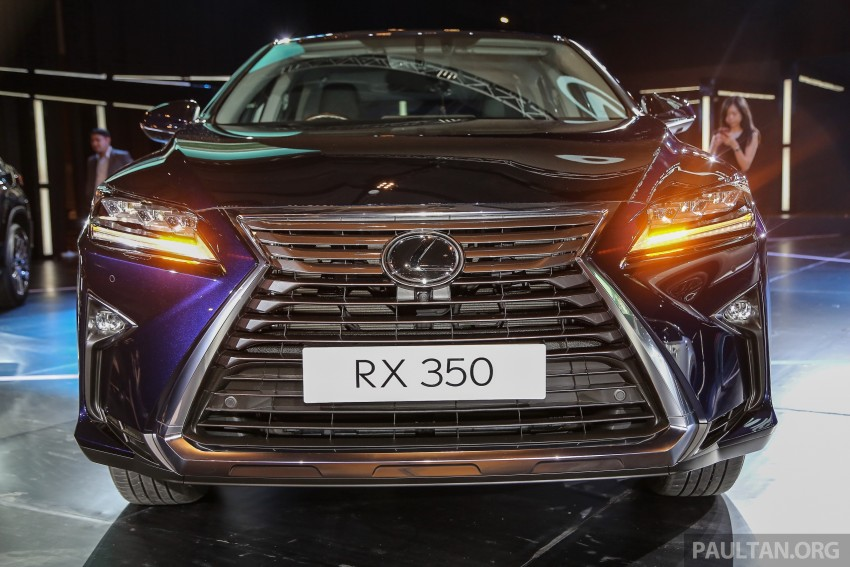 New fourth-gen Lexus RX launched in Malaysia – 200t, 350, 450h and F Sport variants, from RM389k Image #406649