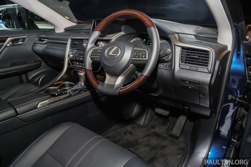 New fourth-gen Lexus RX launched in Malaysia – 200t, 350, 450h and F Sport variants, from RM389k Image #406669