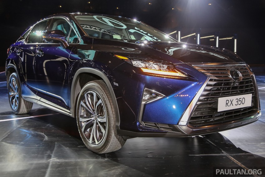 New fourth-gen Lexus RX launched in Malaysia – 200t, 350, 450h and F Sport variants, from RM389k Image #406654