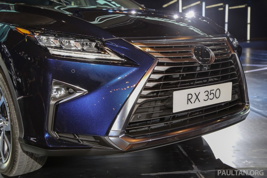 New fourth-gen Lexus RX launched in Malaysia – 200t, 350, 450h and F Sport variants, from RM389k Image #406656
