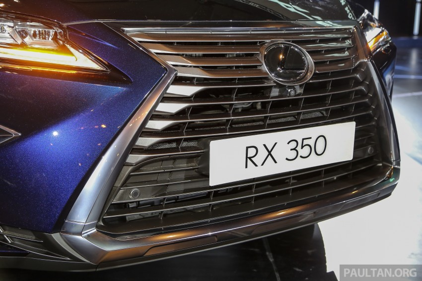 New fourth-gen Lexus RX launched in Malaysia – 200t, 350, 450h and F Sport variants, from RM389k Image #406657