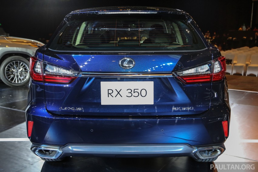 New fourth-gen Lexus RX launched in Malaysia – 200t, 350, 450h and F Sport variants, from RM389k Image #406661