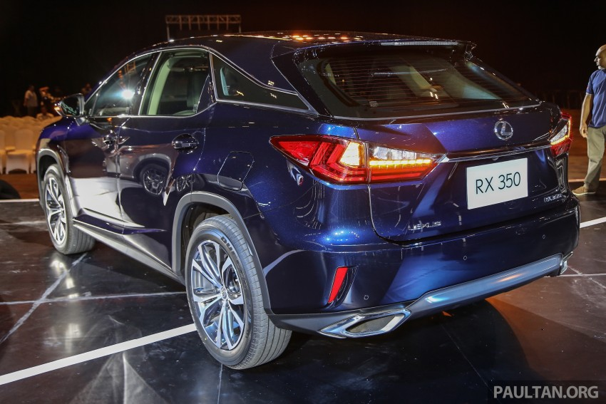 New fourth-gen Lexus RX launched in Malaysia – 200t, 350, 450h and F Sport variants, from RM389k Image #406662