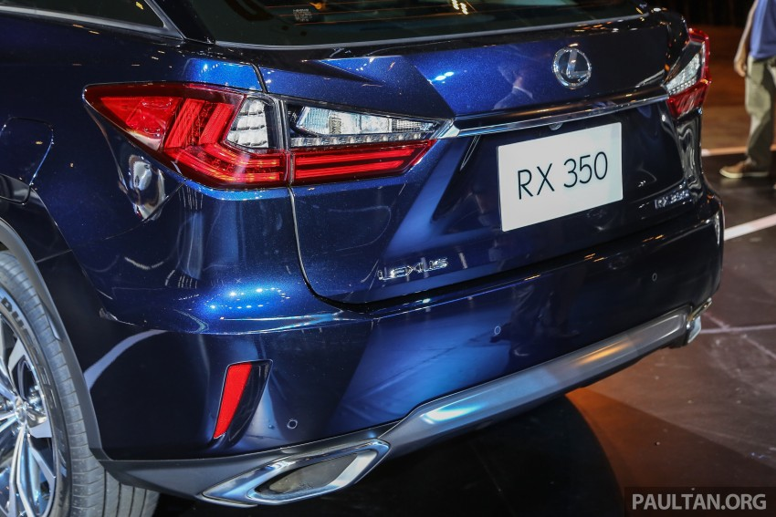 New fourth-gen Lexus RX launched in Malaysia – 200t, 350, 450h and F Sport variants, from RM389k Image #406663
