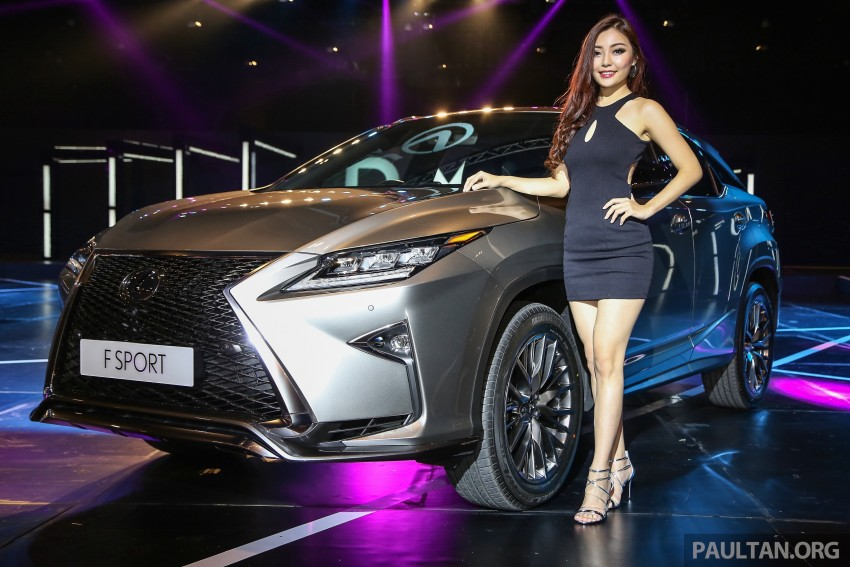 New fourth-gen Lexus RX launched in Malaysia – 200t, 350, 450h and F Sport variants, from RM389k Image #406436