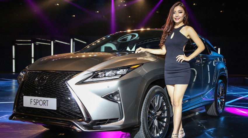 New fourth-gen Lexus RX launched in Malaysia – 200t, 350, 450h and F Sport variants, from RM389k Image #406443