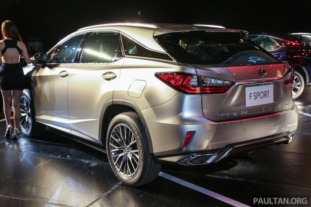 New Lexus Rx Launched In M Sia 200t 350 450h Fr Rm389k