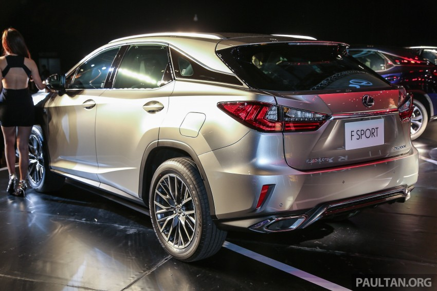 New fourth-gen Lexus RX launched in Malaysia – 200t, 350, 450h and F Sport variants, from RM389k Image #406437