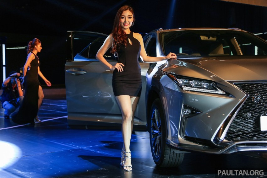 New fourth-gen Lexus RX launched in Malaysia – 200t, 350, 450h and F Sport variants, from RM389k Image #406679