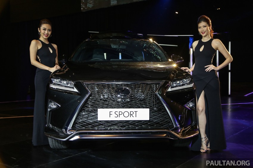 New fourth-gen Lexus RX launched in Malaysia – 200t, 350, 450h and F Sport variants, from RM389k Image #406684