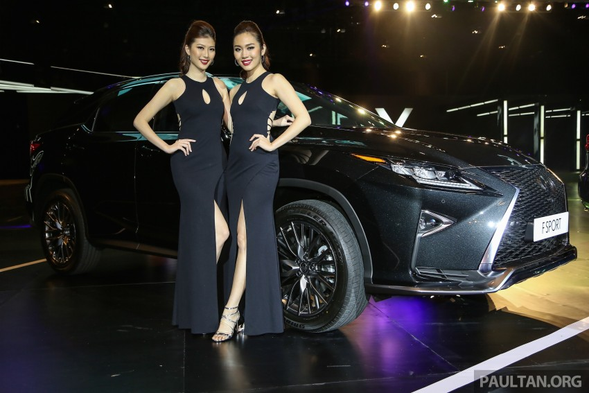 New fourth-gen Lexus RX launched in Malaysia – 200t, 350, 450h and F Sport variants, from RM389k Image #406685