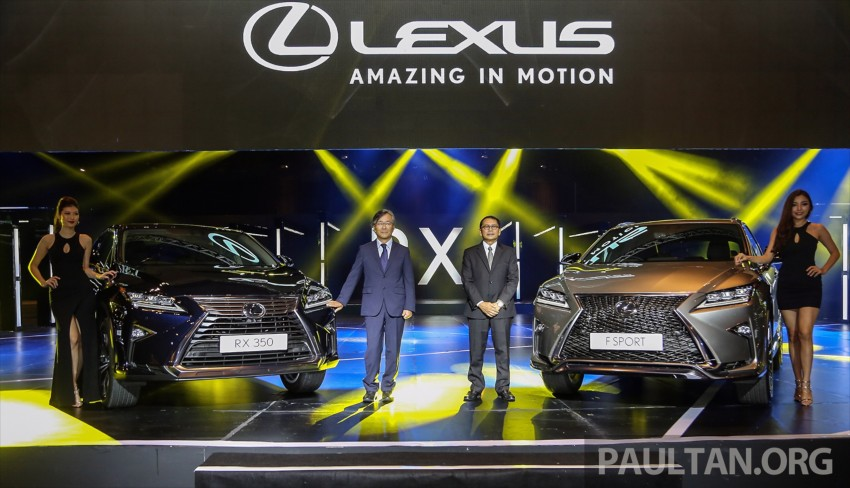 New fourth-gen Lexus RX launched in Malaysia – 200t, 350, 450h and F Sport variants, from RM389k Image #406430
