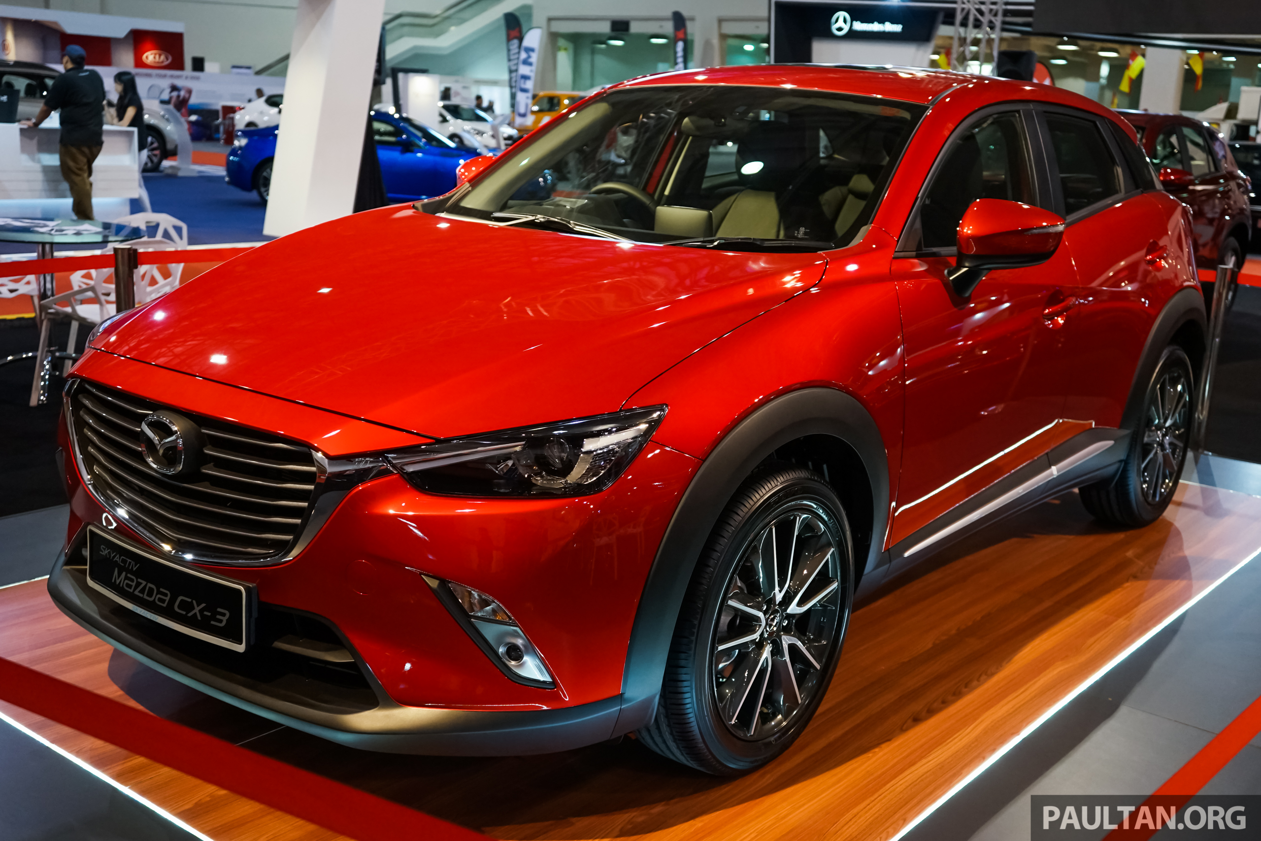 mazda cx 3 2 000 cbu units to be sold out soon malaysian ckd assembly under consideration. Black Bedroom Furniture Sets. Home Design Ideas